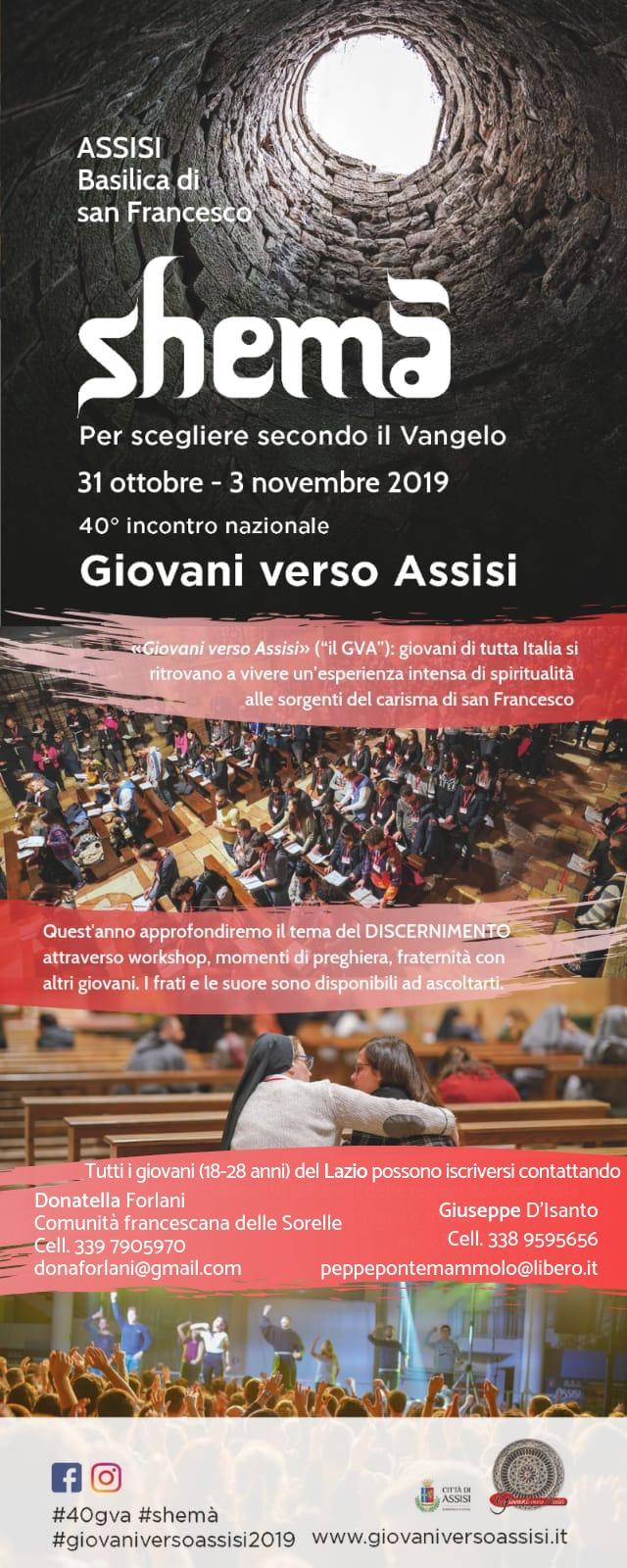 GVA - 40° Convegno giovani verso Assisi