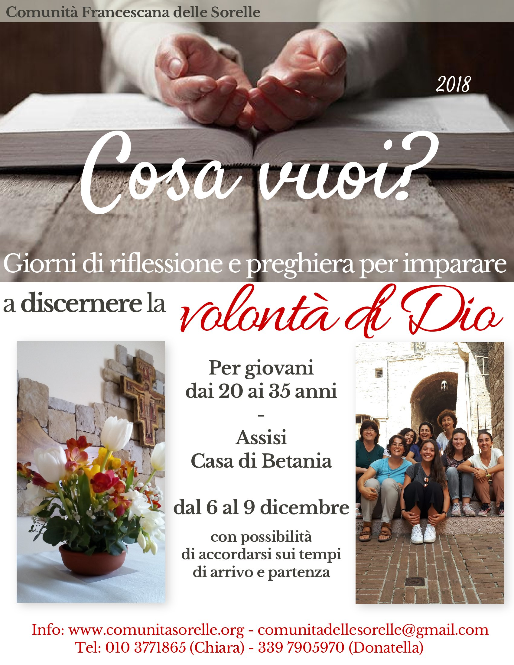 Assisi 6-9 dicembre 2018