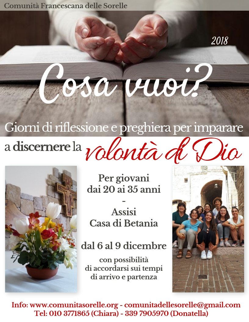 Assisi 6-9 dicembre