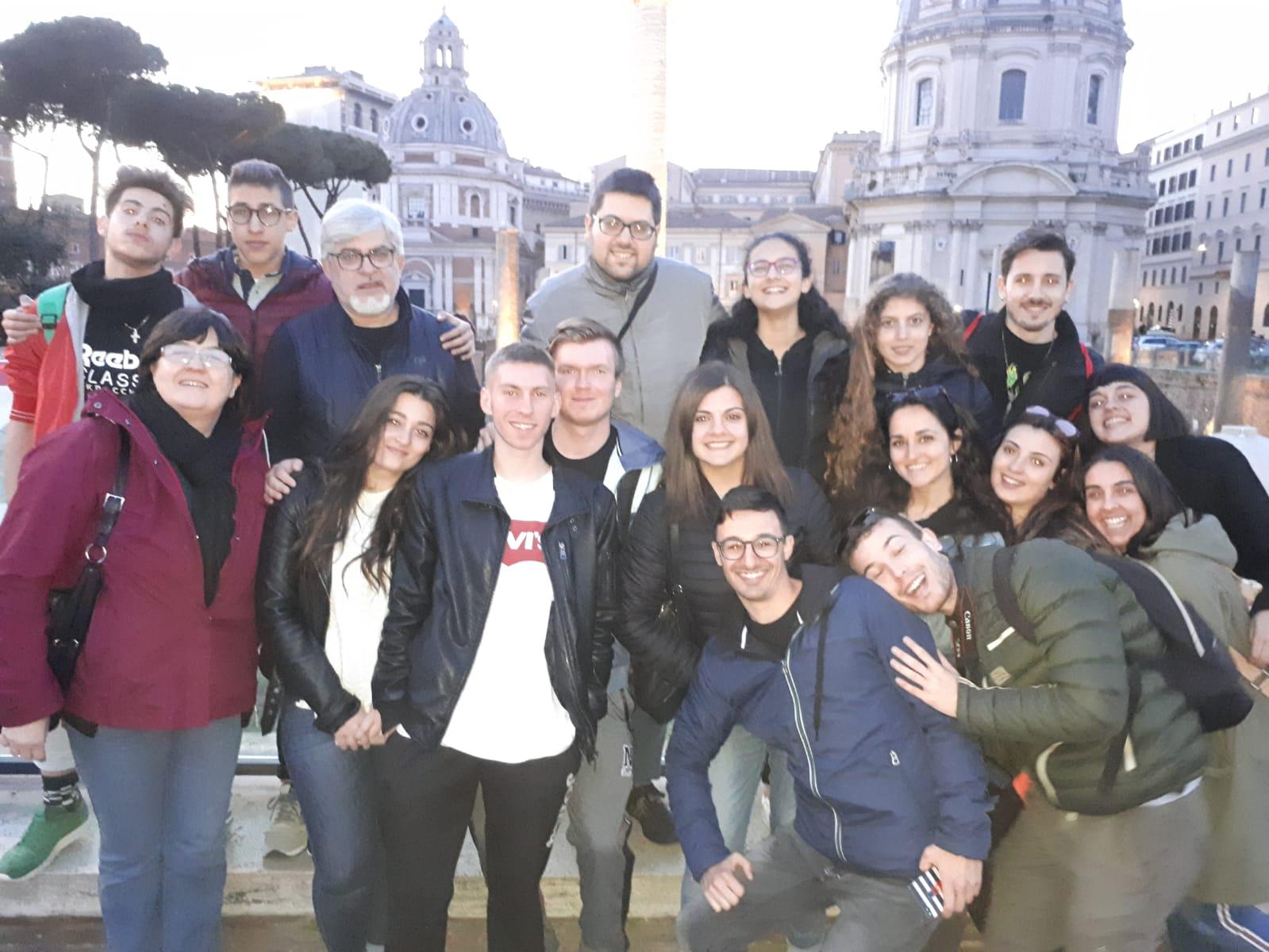 A Roma con i giovani di S. Benedetto. 1 maggio 2019